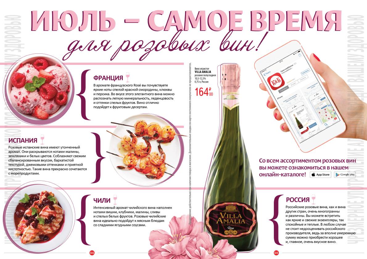 Июль - самое время для розовых вин!