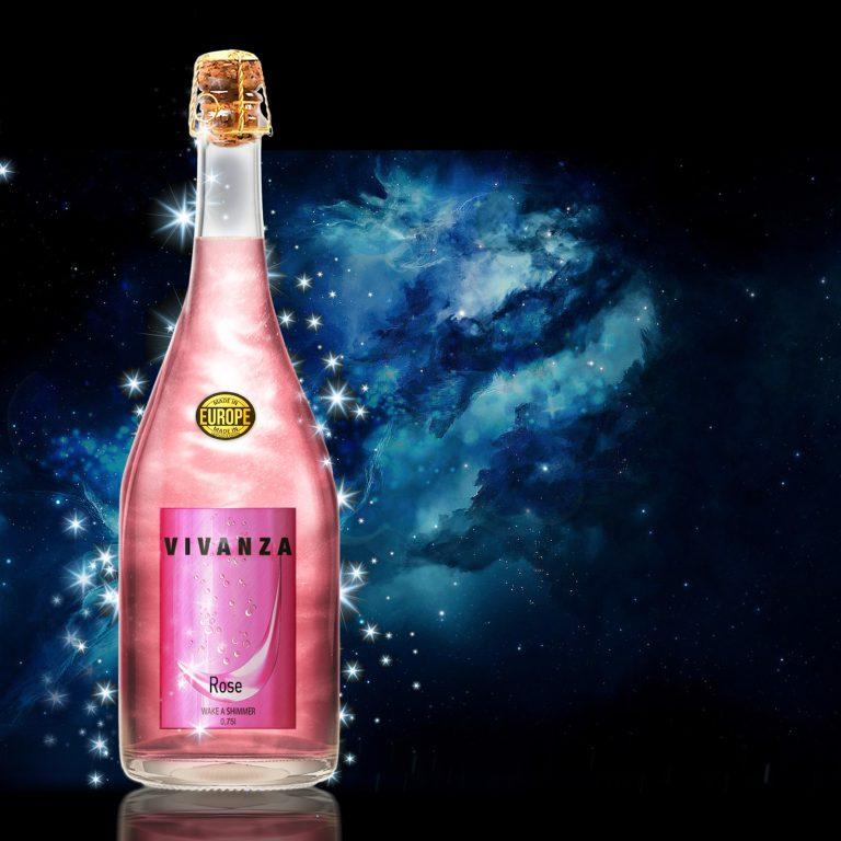 виванза перламутр розовая